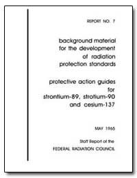 Background Material for the Development ... by Environmental Protection Agency