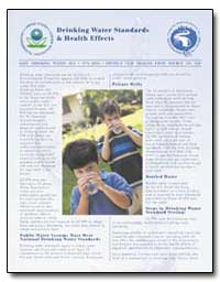 Drinking Water Standards and Health Effe... by Environmental Protection Agency