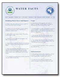 Water Facts by Environmental Protection Agency