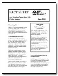Ace Services Superfund Site Colby, Kansa... by Environmental Protection Agency