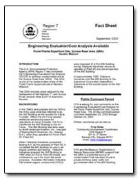 Engineering Evaluation/Cost Analysis Ava... by Environmental Protection Agency