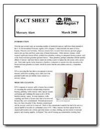 Mercury Alert by Environmental Protection Agency