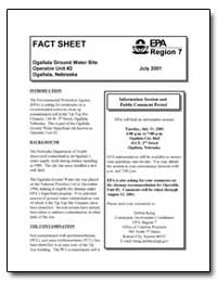 Ogallala Ground Water Site Operable Unit... by Environmental Protection Agency