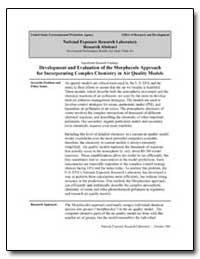Development and Evaluation of the Morphe... by Luecken, Deborah J.