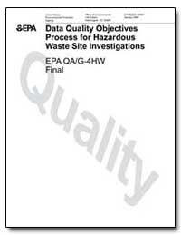 Data Quality Objectives Process for Haza... by Environmental Protection Agency