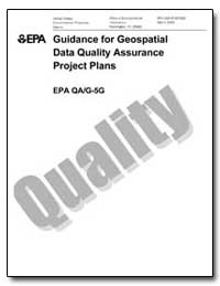 Guidance for Geospatial Data Quality Ass... by Environmental Protection Agency