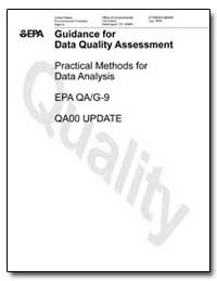 Guidance for Data Quality Assessment by Pisani, D. R.