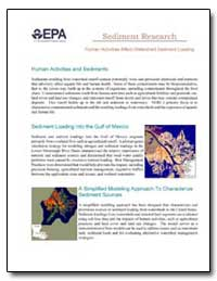 Sediment Research by Environmental Protection Agency