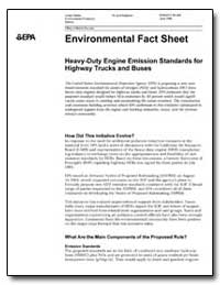 Environmental Fact Sheet by Environmental Protection Agency