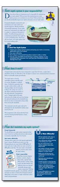 Your Septic System Is Your Responsibilit... by Environmental Protection Agency