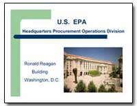 U.S. Epa Headquarters Procurement Operat... by Environmental Protection Agency