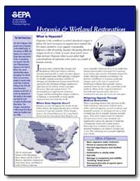 Hypoxia & Wetland Restoration by Environmental Protection Agency