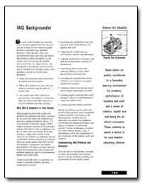 Iaq Backgrounder by Environmental Protection Agency