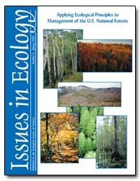 Ecological Considerations in Forest Mana... by Environmental Protection Agency