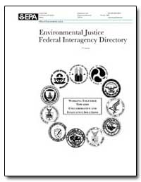 Environmental Justice Federal Interagenc... by Environmental Protection Agency