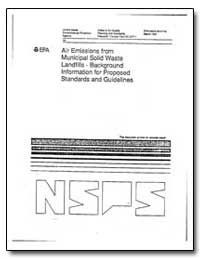 Air Emissions from Municipal Solid Waste... by Environmental Protection Agency
