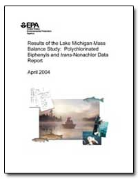 Results of the Lake Michigan Massbalance... by Mccarty, Harry B., Ph. D.