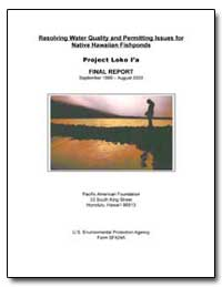 Resolving Water Quality and Permitting I... by Babcock, Roger