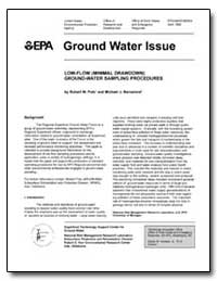 Ground Water Issue by Puls, Robert W.