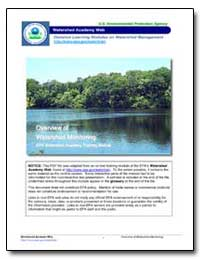 Overview of Watershed Monitoring Epa Wat... by Environmental Protection Agency