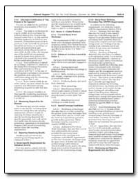 Sector-Specific Numeric Limitations and ... by Environmental Protection Agency