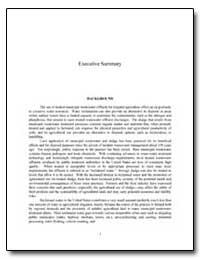 Executive Summary by Environmental Protection Agency