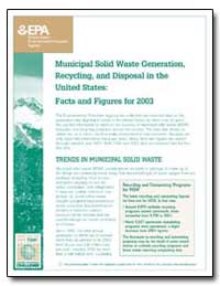 Municipal Solid Waste Generation, Recycl... by Environmental Protection Agency