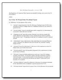 Draft Nox Budget Program Rule-January 7,... by Environmental Protection Agency