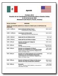 Agenda Frontera 2012 Reunion de Los Coor... by Environmental Protection Agency
