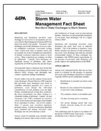 Storm Water Management Fact Sheet Non-St... by Environmental Protection Agency