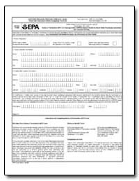 This Form Replaces Previous Form 3510-7 ... by Environmental Protection Agency