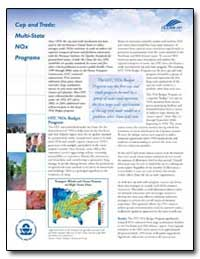 Cap and Trade : Multi-State Nox Programs by Environmental Protection Agency