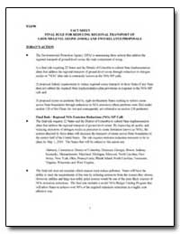 Fact Sheet Final Rule for Reducing Regio... by Environmental Protection Agency