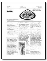 The U.S. Epa's Oil Program Center Journa... by Environmental Protection Agency