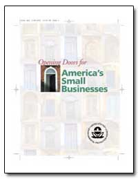 Opening Doors for Americas Small Busines... by Environmental Protection Agency