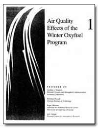 Air Quality Effects of the Winter Oxyfue... by Howard, Carleton J.