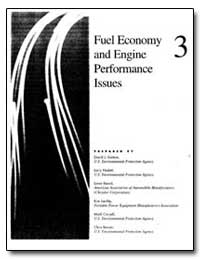 Fuel Economy and Engine Perfomance Issue... by Kortum, Dacid J.