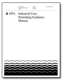 Industrial User Permitting Guidance Manu... by Elder, Jemes R.