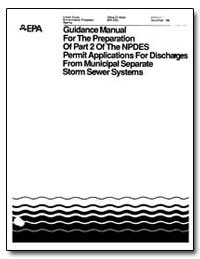 Guidance Manual for the Preparation of P... by Cook, Michael B.