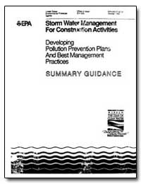 Storm Water Management for Construction ... by Environmental Protection Agency