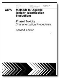 Methods for Aquatic Toxicity Identificat... by Norberg-King, T. J.