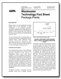 Wastewater Technology Fact Sheet Package... by Environmental Protection Agency