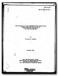 Epa Evaluation of the Autotherm by Pidgeon, William M.