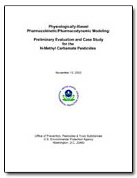 Physiologically-Based Pharmacokinetic/Ph... by Environmental Protection Agency