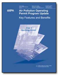 Air Pollution Operating Permit Program U... by Environmental Protection Agency