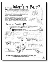 What's a Pest by Environmental Protection Agency