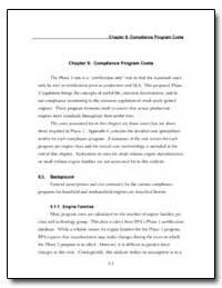 Chapter 5 : Compliance Program Costs by Environmental Protection Agency