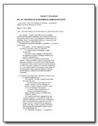 Sec. 941. Expensing of Environmental Rem... by Environmental Protection Agency