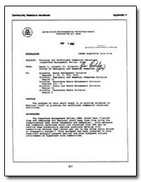 United States Environmental Protection A... by Longest, Henry L.
