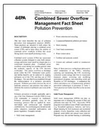 Combined Sewer Overflow Management Fact ... by Environmental Protection Agency